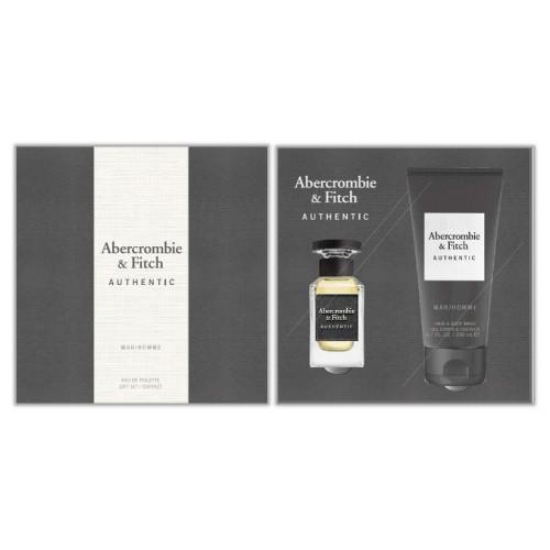 Abercrombie & Fitch - Authentic Men Eau de Toilette 50Ml Set -