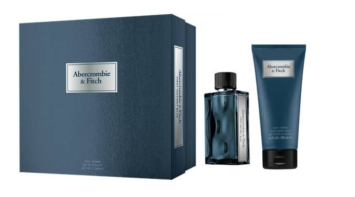 Abercrombie & Fitch - First Instinct Blue Man 50Ml Set -